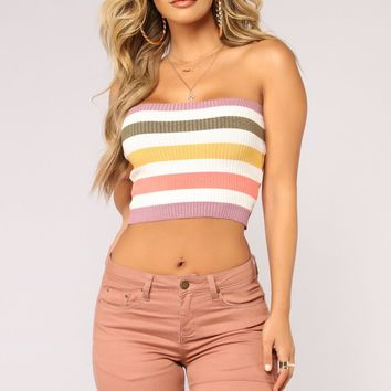 Spectrum Crop Top - Multi