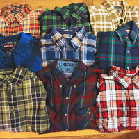 Grunge MYSTERY FLANNEL by TheBeardedBee on Etsy