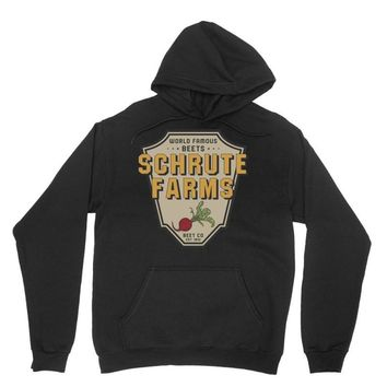 World Famous Beets Schrute Farms Unisex Hoodie