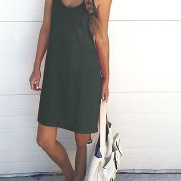 Grey Homecoming Party Scoop Neck Going Out Midi Dress