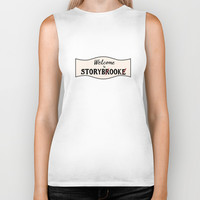 OUAT |Welcome to Storybrooke sign Biker Tank by CLM Design