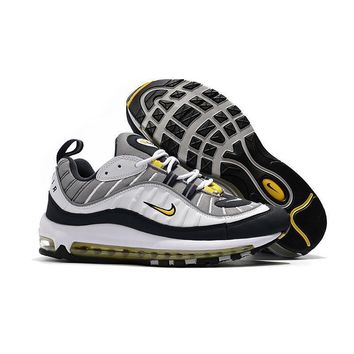 Nike Air Max 98 OG TOUR YELLOW WHITE NAVY YELLOW Running Shoes