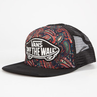 Vans Beach Girl Womens Trucker Hat Navy One Size For Women 24804921001