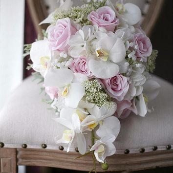 74cf37d5bf Best Cascading Bridal Bouquets Products on Wanelo