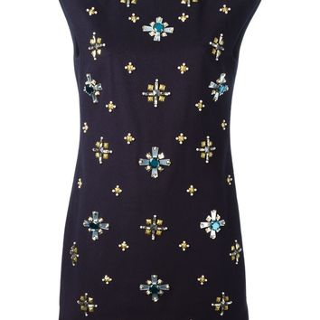 Tory Burch embellished shift dress
