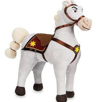 Princess Tangled Rapunzel Maximus White Horse Plush Toy Cute Stuffed Animals 40cm 16'' Baby Girls Kids Toys for Children Gifts