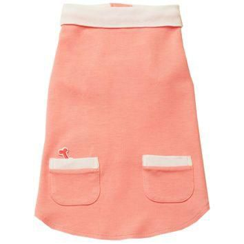 Fifi & Romeo Classic Pique Cotton Polo Shirt with Pockets - Pink
