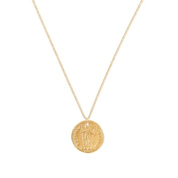 Tess and Tricia  Simplicity Gladiator Relic Charm Necklace