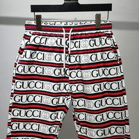 HCXX 19June 218 Gucci Classic Logo Casual sports shorts beach pants