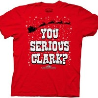 Christmas Vacation You Serious Clark? Red Adult T-Shirt