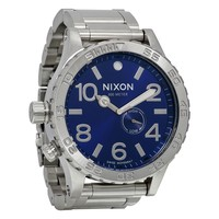 Nixon 51-30 Tide Blue Dial Stainless Steel Mens Watch A0571258