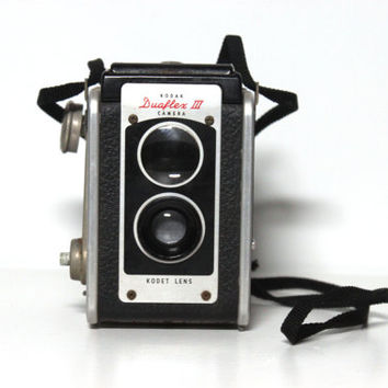 Vintage 50s Duaflex II Camera | Retro, 1950s Photography Photographer Gift Collectible Film Analog
