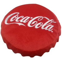 Coca Cola Bottle Top 3D Pillow