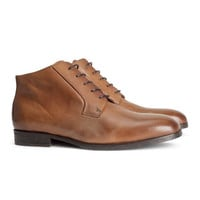 H&M - Leather Shoes - Brown - Men