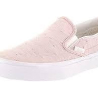 Vans W Classic Slip On(Speckle Jersey)Pink