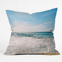 Lisa Argyropoulos Take Me There Outdoor Throw Pillow