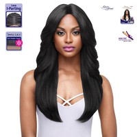 OUTRE SYNTHETIC I-PART SWISS LACE FRONT WIG- JASMINE