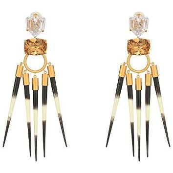 Tory Burch Hanging Statement Earrings