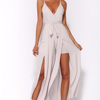 Gypsy Trail Maxi Dress Grey