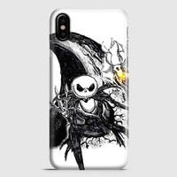The Nightmare Before Christmas Smiley iPhone X Case