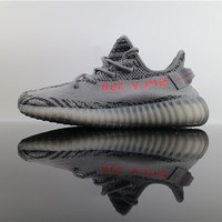 Adidas Yeezy Boost 350 V2 Real Boost Gray Zebra