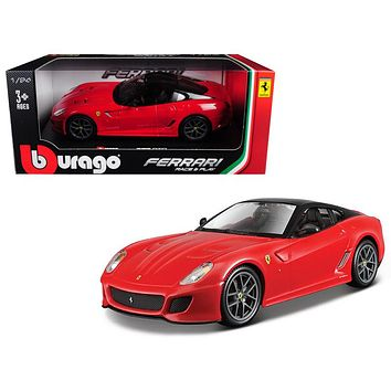 Ferrari 599 GTO Red 1:24 Diecast Model Car by Bburago