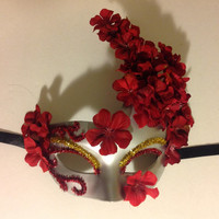 Handmade Venetian Masquerade Masks with by trendybowsnbands
