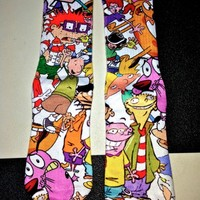 SWEET LORD O'MIGHTY! MA FAV CARTOON SOCKS