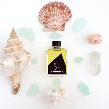 Siren Mini Perfume // Botanicals + Essential Oils // Vegan Perfume // Natural Perfume // Beachy Perfume