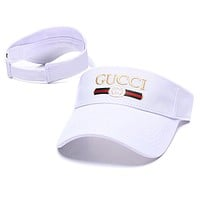 Gucci Women Sport Sunhat Embroidery Baseball Cap Hat
