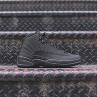 NIKE AIR JORDAN 12 RETRO BLACK / ANTHRACITE