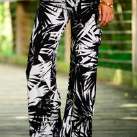 West Palm Palazzo Pants, Black