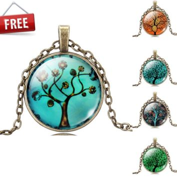 Tree of Life Pendant Necklace - Rare Limited Edition (Multiple Colors)
