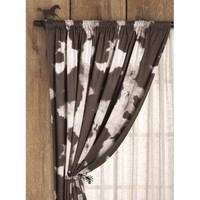 Cattle Rancher Drapery Panel - Drapes - Window Treatments - Home