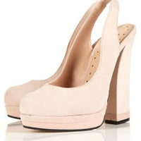 SWEET Curve Heel Sling Backs - New In This Week - New In - Topshop