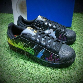 DCCKGV7 Best Online Sale Adidas Superstar LGBT Pride Month Gay Pride Pack Casual Shoes Sport Shoes BB1687