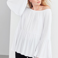 Kimchi Blue Blake Off-The-Shoulder Tunic Top | Urban Outfitters