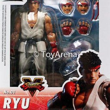 S.H. Figuarts Street Fighter V (5) Ryu Action Figure Bandai USA FREE SHIPPING!!