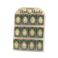 GOLD PLATED BOOKMARKS