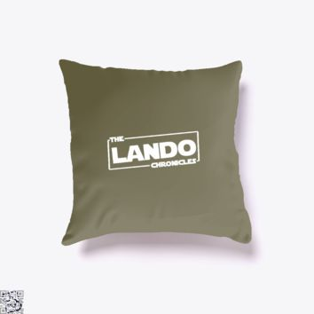 The Lando Chronicles, Star Wars Throw Pillow Cover