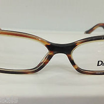 NEW AUTHENTIC D&G 1219 COL 1572 BROWN EYEGLASSES FRAME BY DOLCE & GABBANA