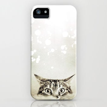 Cat's Eyes - for iphone iPhone & iPod Case by Simone Morana Cyla