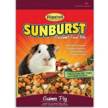 Higgins Sunburst Gourmet Guinea Pig Food Mix 25 lbs