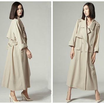 Long Trench Coats For Women | Down Coat