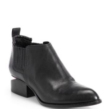 Rag & Bone - Walker Leather Block Heel Booties