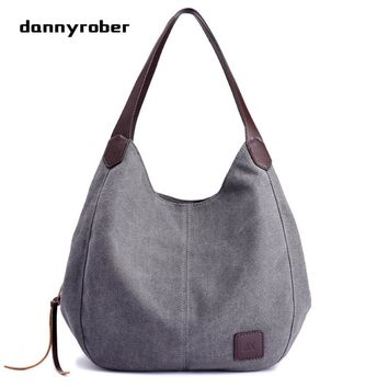 2017 Hot Fashion Women's Handbag Cute Girl Tote Bag Lady Canvas Hobos Shoulder Bag Female Large Capacity Small Leisure Bag bolsa