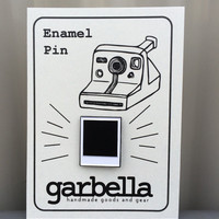 Polaroid Film Enamel Pin