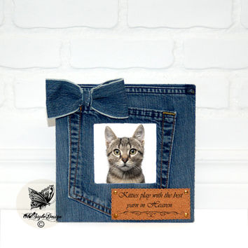 Personalized Pet Gift for Pet Lover Pet Loss Memorial Pet Sympathy  Personalized Pet Picture Frame Cat Picture frame Personalized Dog Frame