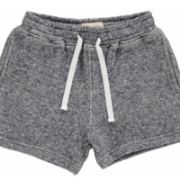 Navy Sweat Shorts by Me & Henry