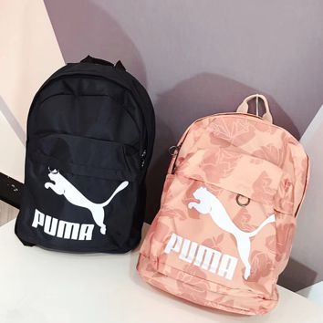 PUMA Casual Sport Laptop Bag Shoulder School Bag Backpack